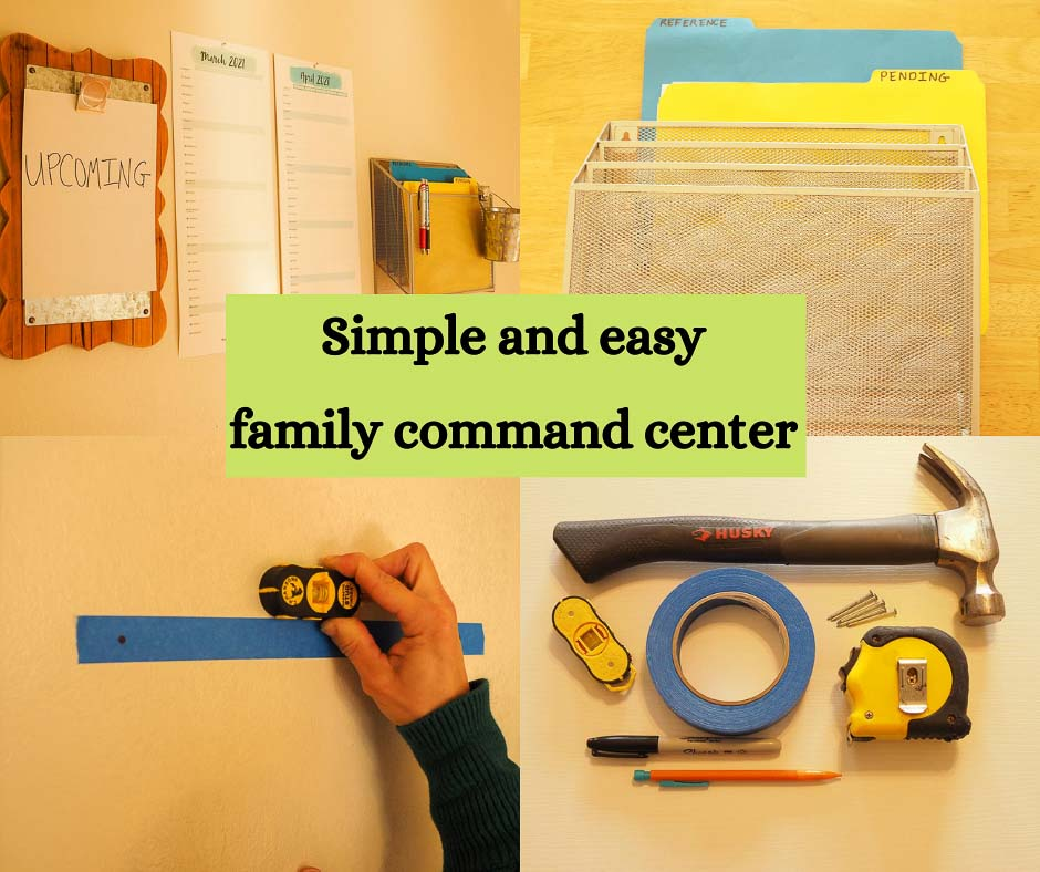 easy to use family command center