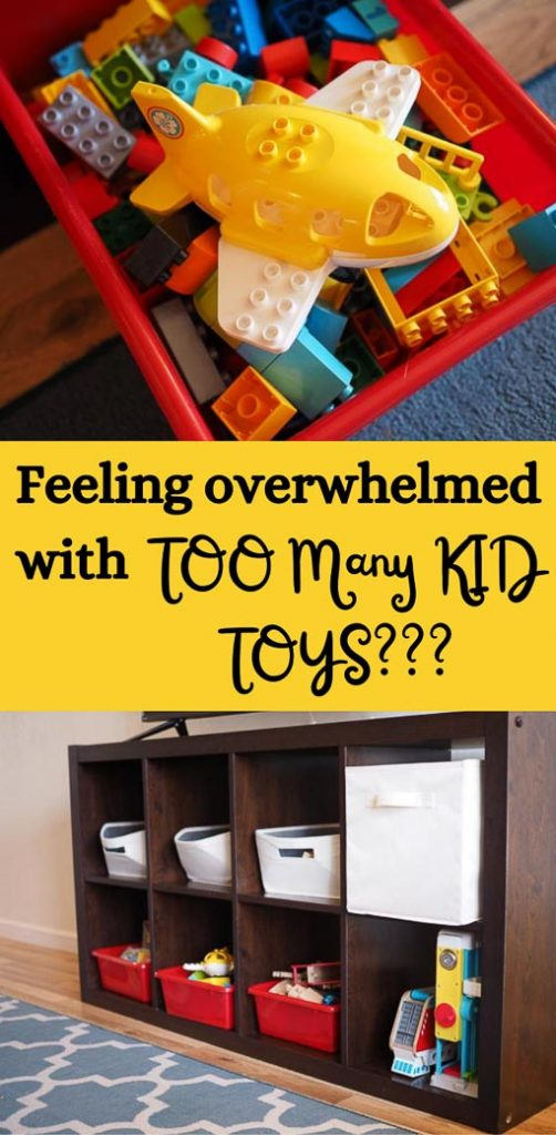 too many kids toys