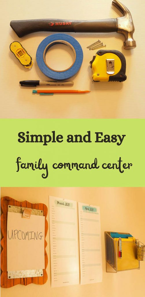 simple and easy family command center