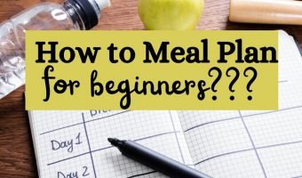 FB_ how to meal plan for a week for beginners
