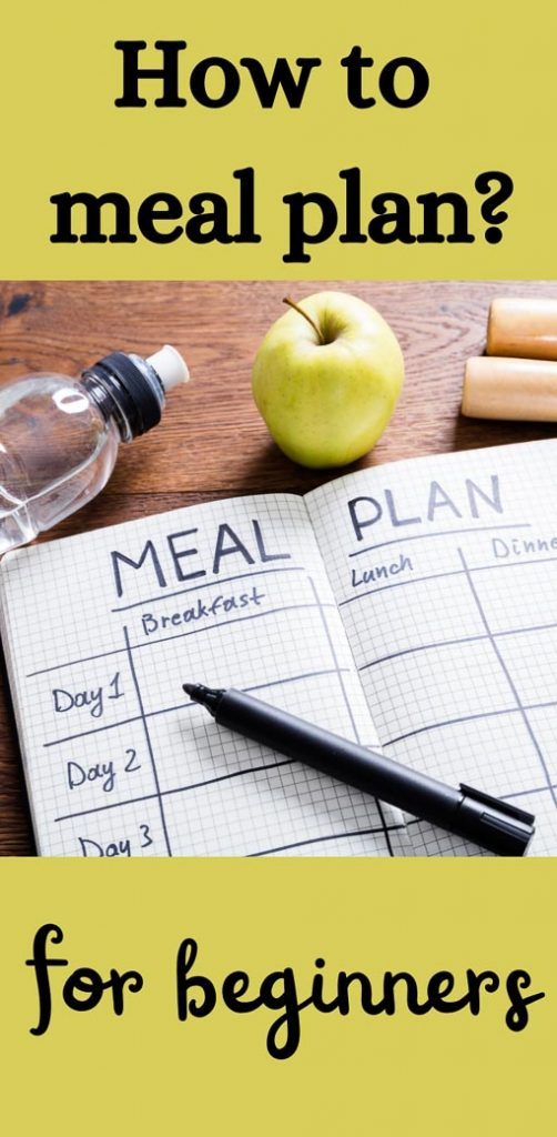 Pin-meal planning for beginners