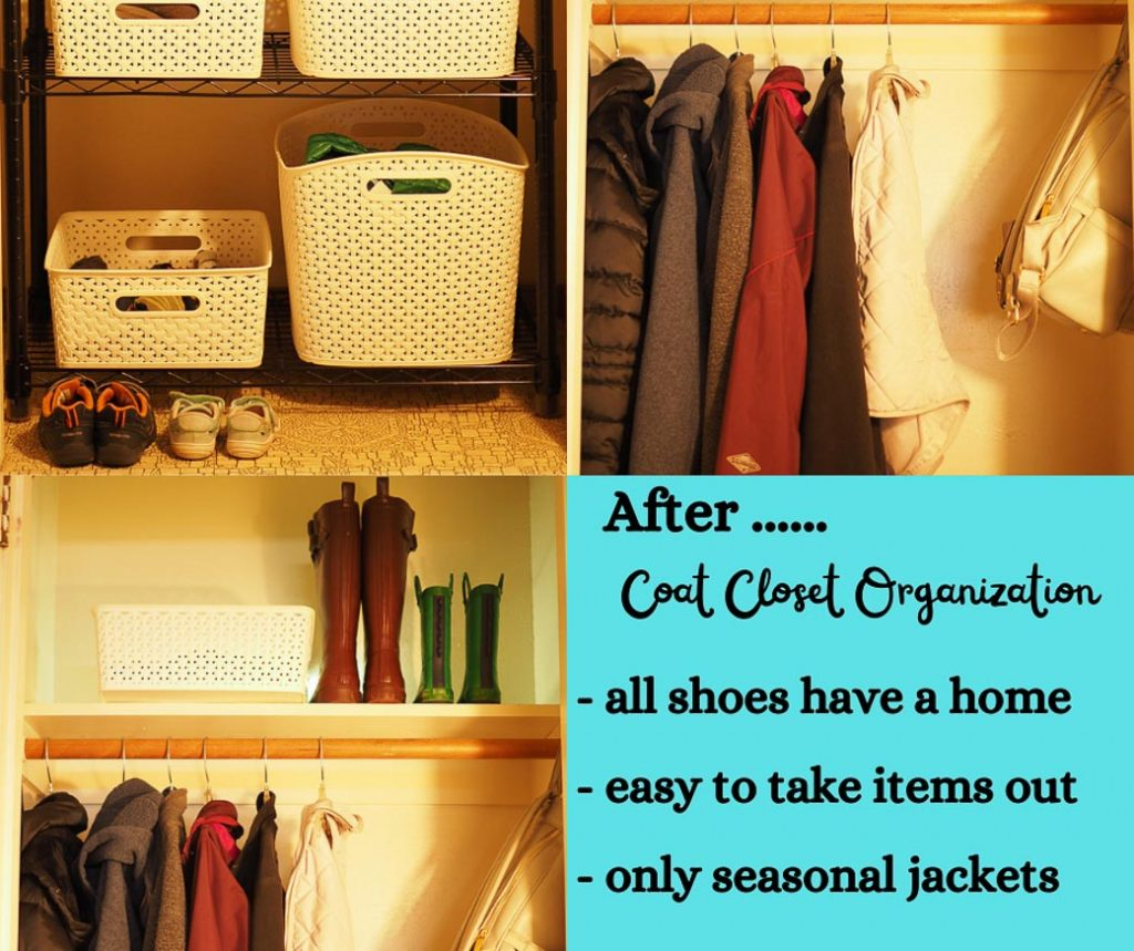 after organizing our coat closet