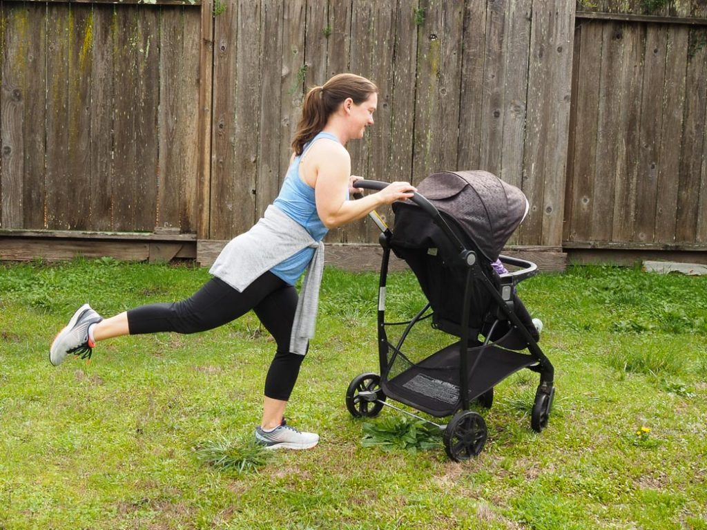 1 out of 5 best stroller fitness workout