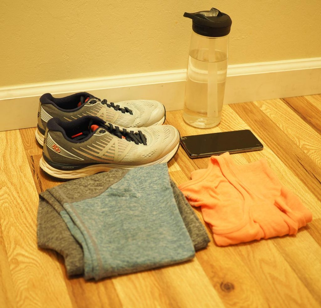 supplies needed for stroller fitness workout