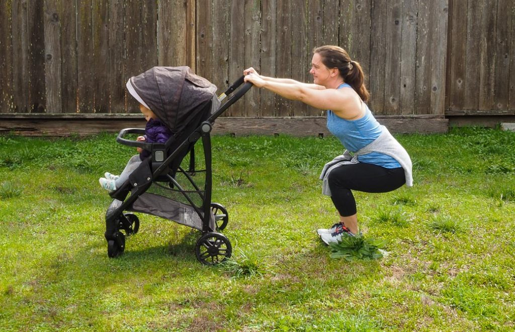 3 out of 5 best stroller fitness workout