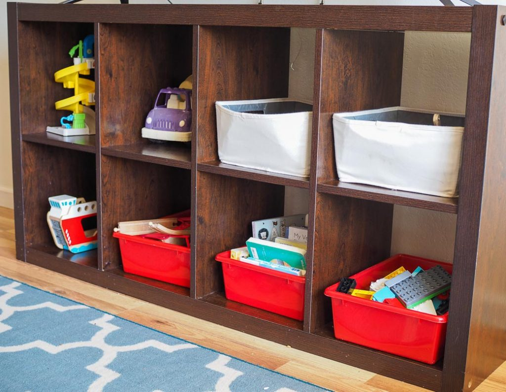 rule #2: use only one location for decluttering toys