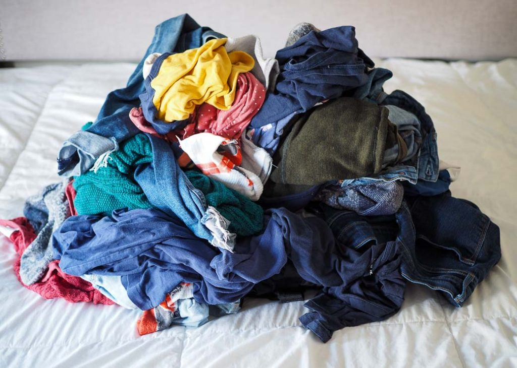 How to love doing laundry by completing the whole process