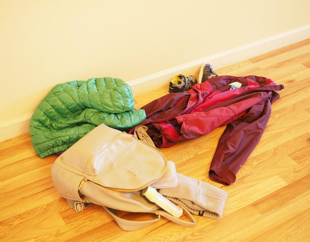 put items back right away for a minimal life