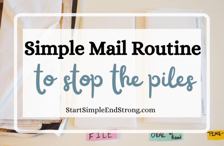 mail routine