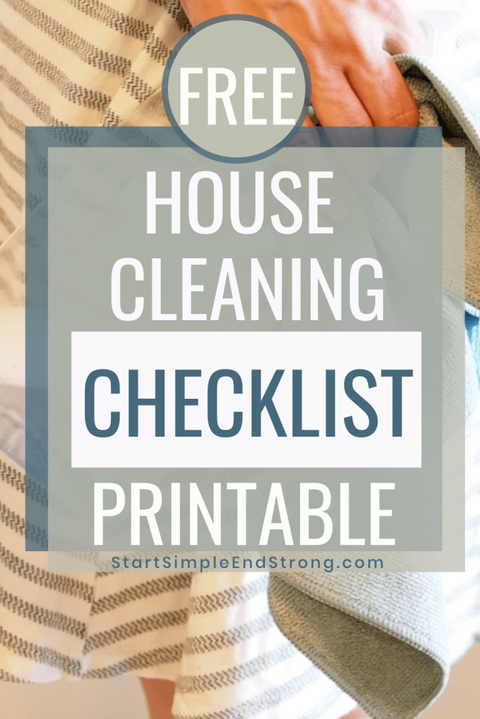 free house cleaning checklist printable pdf #cleaningmotivation #springcleaning #simpleliving #checklist #housecleaning #housecleaningprintable #homemaking #homemaking routines