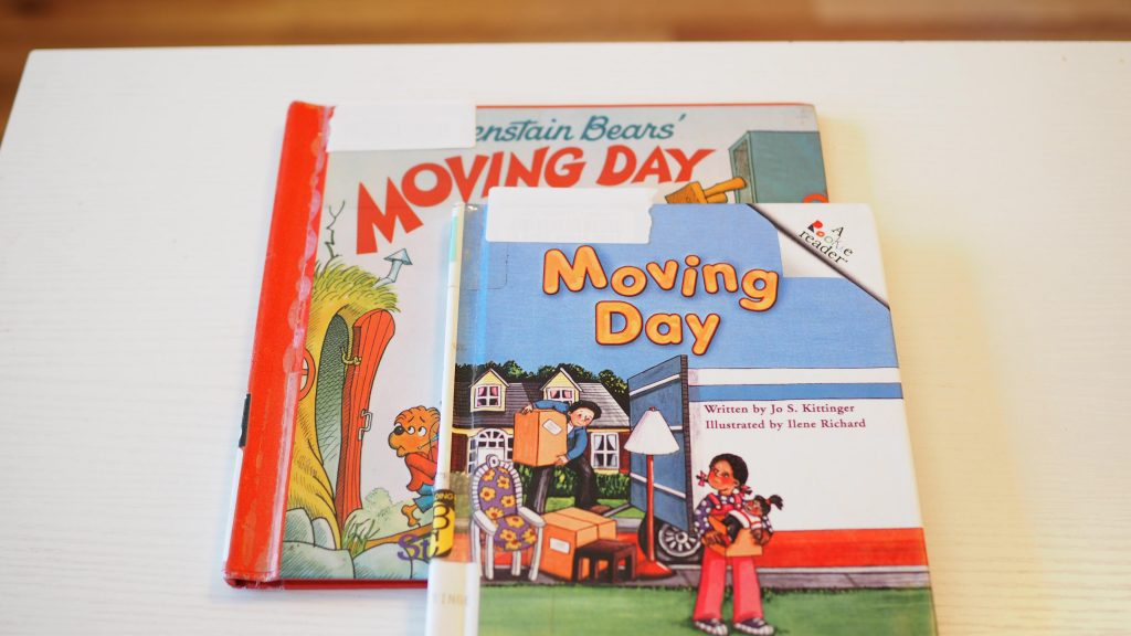two moving books for children